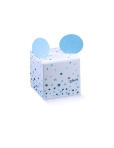 Scatoline Portaconfetti Disney topolino con orecchie Battesimo