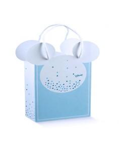 Busta Mickey Disney Topolino Battesimo Nascita mm. 155X75X205 - Bomboniere Shop Store