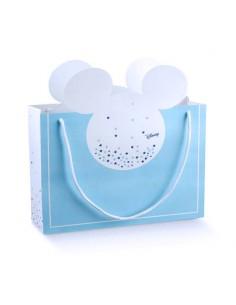 Busta Mickey Disney Topolino Battesimo Nascita mm. 330X105X270 - Bomboniere Shop Store