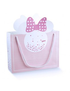 Busta Minnie Disney Battesimo Nascita mm. 330X105X270 - Bomboniere Shop Store