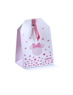 Scatolina Portaconfetti tag Disney Topolina Battesimo Nascita mm. 55x35x100 - Bomboniere Shop Store