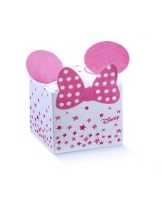 Scatoline Portaconfetti Disney topolina con orecchie Battesimo