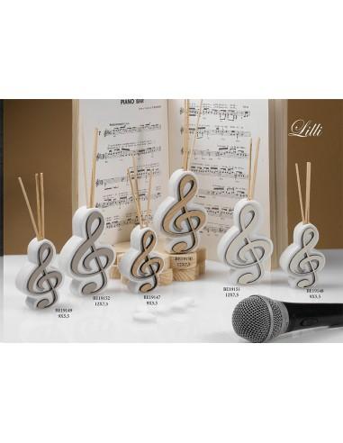 Profumatore nota musicale LINEA LILLI BomboniereShopStore