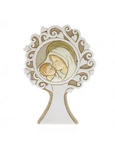 Bomboniera albero della vita rotondo con maternita'