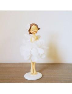Bomboniera fatina petali bianchi BomboniereShopStore