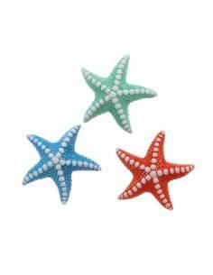 Bomboniera magnete mare stella marina in 3 colori assortiti