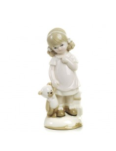 Bomboniera bimba con orsetto in porcellana BomboniereShopStore