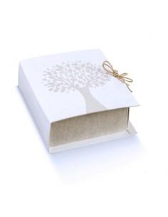 Astuccio porta confetti book albero della vita