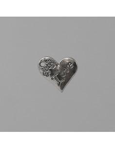 Applicazione cuore love - Bomboniere Shop Store