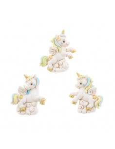 Bomboniera unicorno in resina con magnete - Bomboniere Shop Store