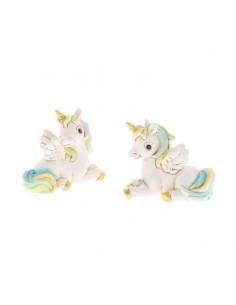 Bomboniera unicorno celeste in resina BomboniereShopStore