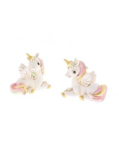 Bomboniera unicorno seduto in resina BomboniereShopStore