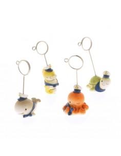 Animaletti marini con clip - Bomboniere Shop Store