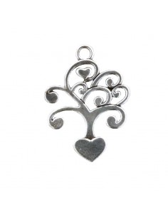 Ciondolo albero con cuori Charms portafortuna - Bomboniere Shop Store