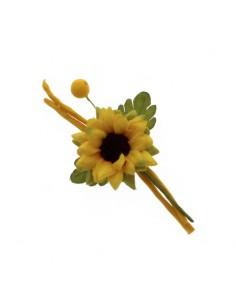 Rametto fiore girasole BomboniereShopStore