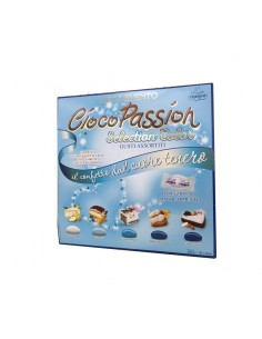 LIETO EVENTO CIOCOPASSION SELECTION COLOR CELESTE - Bomboniere Shop Store