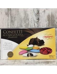 CRISPO CONFETTI AL CIOCCOLATO AMORINI ROSSI FORMA CUORE - Bomboniere Shop Store
