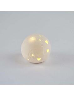 lampada sfera led bomboniera mondo prezzo conveniente - Bomboniere Shop Store