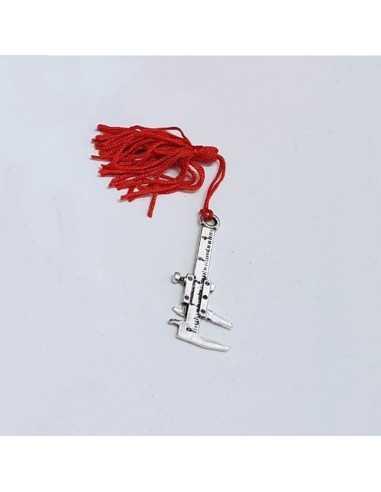 calibro con nappa rossa BomboniereShopStore