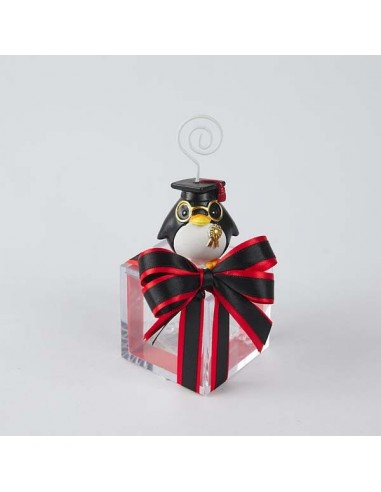 Segnaposto Matrimonio Outlet.Memo Clip Laurea Con Pinguino Segnaposto Prezzi
