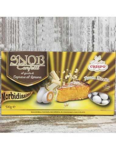 Confetti Snob caprese al limone gr500 - Bomboniere Shop Store