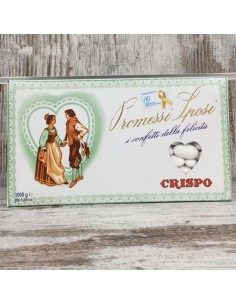 Confetti promessi sposi BIANCHI 1kg BomboniereShopStore