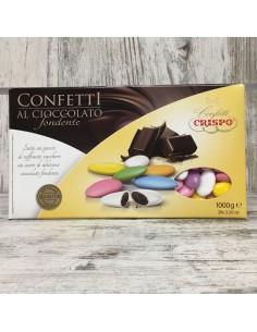 CONFETTI ASSORTITI CRISPO AL CIOCCOLATO FONDENTE - Bomboniere Shop Store