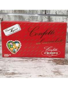Confetti cuoricini mignon al cioccolato colori assortiti da 1kg - Bomboniere Shop Store