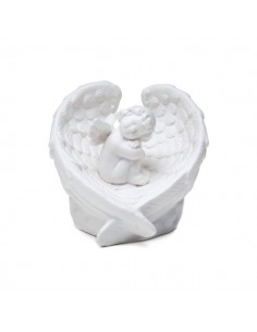 BOMBONIERE ANGELI DI PORCELLANA CON LUCE LED - Bomboniere Shop Store