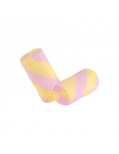 Marshmallow estruso tubo giallo e rosa BomboniereShopStore