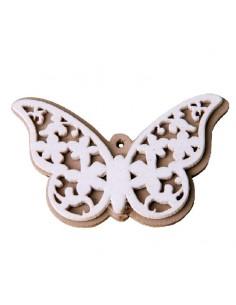 Applicazione in legno farfalla pezzi 12 BomboniereShopStore