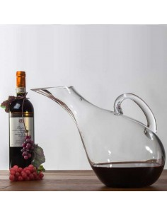 DECANTER PER VINO FORMA INCLINATA 2100ML - Bomboniere Shop Store