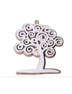Applicazione in legno albero della vita pezzi 12 - Bomboniere Shop Store