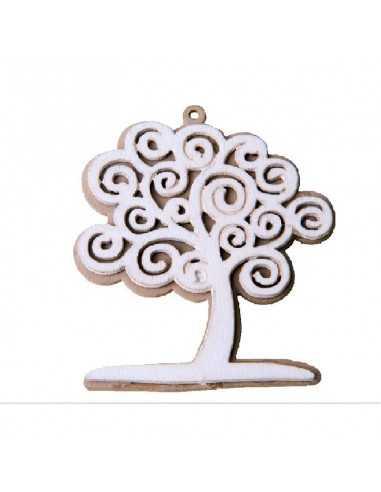 Applicazione in legno albero della vita pezzi 12