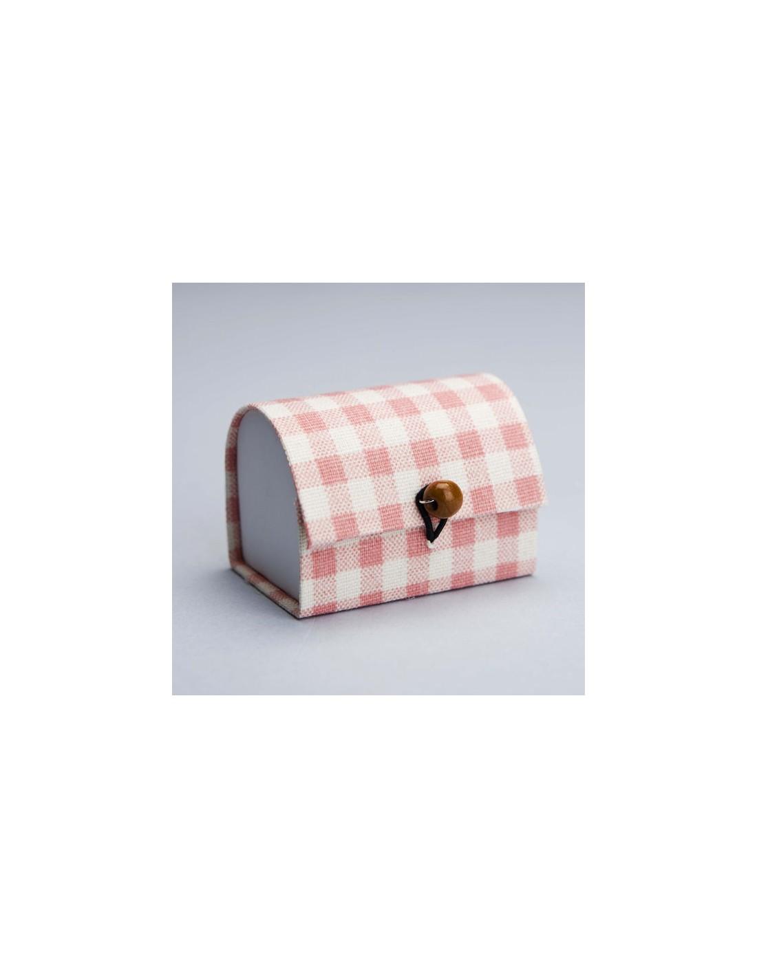 Quadretti Fai Da Te bauletto quadretti rosa scatoline portaconfetti