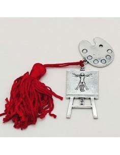 Bomboniere laurea accademia belle arti ciondoli tavolozza e tela pittore - Bomboniere Shop Store