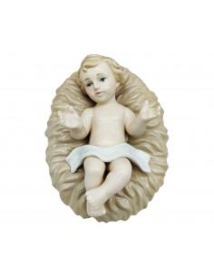 Gesù Bambino nella Culla Statua presepe Bambinello in Porcellana Navel - Bomboniere Shop Store
