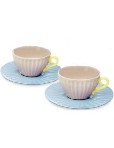 Set 2 tazzine caffe, Tazza da caffè, Set Tazze in Porcellana
