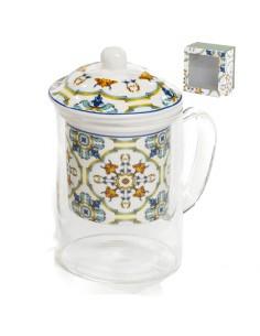 Tazza da tè Bomboniere Matrimoni Originali Tisaniera decori maioliche - Bomboniere Shop Store