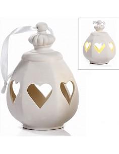 Lanterne Bianche Con Cuori Bomboniere Matrimonio Online Outlet - Bomboniere Shop Store