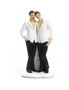 Cake Topper Sposi LGBT Gay - Bomboniere Shop Store