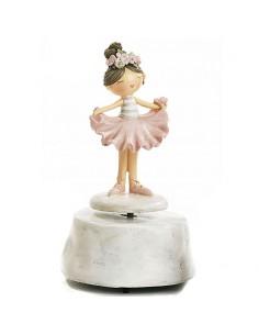 Carillon Ballerina Bomboniera Prima Comunione Bambina - Bomboniere Shop Store