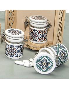 Barattoli Ermetici Bomboniere Ceramiche Maioliche - Bomboniere Shop Store