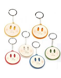 Portachiavi Smile Bomboniere Compleanno - Bomboniere Shop Store