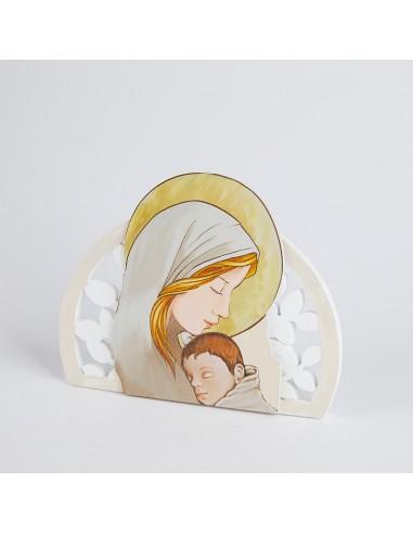 Icone Sacre Moderne Bomboniere Battesimo con Maternità
