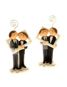 Coppia MARRIED lui+lui memo clip