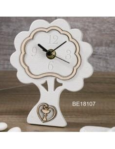 Orologio albero bianco con cuore calice BomboniereShopStore