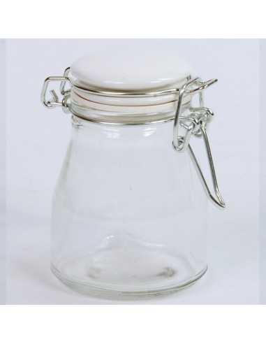 Barattolo vetro ermetico tappo ceramica - Bomboniere Shop Store