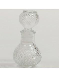 Bottiglia vetro tonda 50ml altezza 10cm BomboniereShopStore