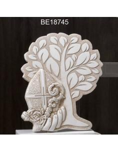 Icona media albero con cresima